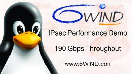 190 Gbps IPsec Demo